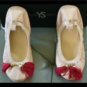 Yosi Samra Leather ballet flats size 7